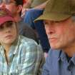 """(L–r) AMY ADAMS as Mickey and CLINT EASTWOOD as Gus in Warner Bros. Pictures' drama """"TROUBLE WITH THE CURVE,"""" a Warner Bros. Pictures release."""