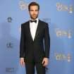 Chris Pine poses in the press room at the 71st annual Golden Globe Awards at the Beverly Hilton Hotel on Sunday, Jan. 12, 2014, in Beverly Hills, Calif. (Photo by Jordan Strauss/Invision/AP)