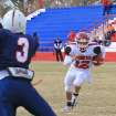Brady Warlaw, SNU scores first touchdown in SNU\'s 28-7 victory over OPSU Saturday in Goodwell, OK