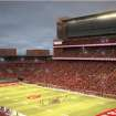 Artists rendering of the proposed upgraded to OU's Gaylord Family-Memorial Stadium. PHOTO PROVIDED