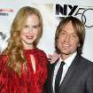 This image released by Starpix shows actress and honoree Nicole Kidman, left, and her husband Keith Urban at a gala by The Film Society of Lincoln Center following by the premiere of her film,