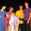 """The cast of """"You're A Good Man, Charlie Brown"""" as performed at the Oklahoma Christian Academy Christmas Cabaret. The production was presented under the direction of Mr. Chad Anderson.  Community Photo By:  Becky Campbell  Submitted By:  Nyla, Edmond"""