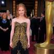 Jessica Chastain arrives before the 84th Academy Awards on Sunday, Feb. 26, 2012, in the Hollywood section of Los Angeles. (AP Photo/Chris Pizzello) ORG XMIT: OSC268