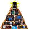 New cell phones for Christmas. Tuesday, Nov. 27, 2007, STAFF PHOTO ILLUSTRATION BY CHRIS LANDSBERGER, The Oklahoman