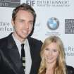"FILE - This June 15, 2012 file photo shows actors Dax Shepard, at left, and Kristen Bell at the 100th Anniversary of The Beverly Hills Hotel - Day 1 in Beverly Hills, Calif. The couple is expecting their first child in late spring, Bell's rep Marcel Pariseau confirms. Shepard, 37, appears on NBC's drama ""Parenthood"" while 32-year-old Bell has a role on Showtime's ""House of Lies"" also starring Don Cheadle. She also narrates ""Gossip Girl"" as the show's title character. They also co-starred in the film ""Hit and Run"" this summer which Shepard also wrote and directed. (Photo by Katy Winn/Invision/AP, file)"