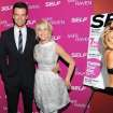 Actors Josh Duhamel and Julianne Hough attend the premiere of