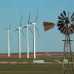Then and Now....Windmills in Weatherford.  Community Photo By:  Michael Gross  Submitted By:  Michael, Oklahoma City