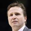 OKLAHOMA CITY THUNDER / MIAMI HEAT / NBA BASKETBALL: Oklahoma City interim head coach Scott Brooks during the Thunder - Miami game January 18, 2009 in Oklahoma City.    BY HUGH SCOTT, THE OKLAHOMAN ORG XMIT: KOD