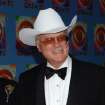 Actor Larry Hagman from the television series