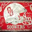 ONE OF THE AUTOGRAPHED OU PIECES IN OUR POSSESSION NOW  Community Photo By:  GARY COOK  Submitted By:  gary, SHAWNEE