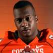 OSU COLLEGE FOOTBALL: Defensive end Richetti Jones poses for a photo during Oklahoma State University football media day in Stillwater, Okla., Saturday, August 2, 2008. BY MATT STRASEN, THE OKLAHOMAN ORG XMIT: KOD