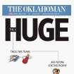The front page of The Oklahoman, June 12, 2012, in advance of Game 1 of the NBA Finals.