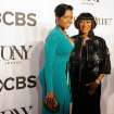 Fantasia Barrino, left, and Patti LaBelle arrive at the 68th annual Tony Awards at Radio City Music Hall on Sunday, June 8, 2014, in New York. (Photo by Charles Sykes/Invision/AP)