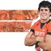 Zac Robinson GRAPHIC / ILLUSTRATION with photos, from right, clockwise: 1) DO NOT USE -- FOR FOOTBALL PREVIEW SECTION.     OKLAHOMA STATE UNIVERSITY COLLEGE FOOTBALL / OKLAHOMA IDOL / AMERICAN IDOL: Zac Robinson of Oklahoma State poses for a portrait during OSU media day for the Oklahoma State football team inside Gallagher-Iba Arena in Stillwater, Okla., Saturday, August 8, 2009. Photo by Bryan Terry, The Oklahoman   2) OSU's Zac Robinson (11) rushes as Georgia's Darryl Gamble (50) tries to bring him down during the college football game between OSU and the University of Georgia at Boone Pickens Stadium on the campus of Oklahoma State University in Stillwater Saturday, Sept. 5, 2009. Photo by Sarah Phipps, The Oklahoman.        3) CELEBRATE / CELEBRATION: OSU's Zac Robinson (11) pumps his fist as he comes off the field after scoring a touchdown against Georgia during the college football game between OSU and the University of Georgia at Boone Pickens Stadium on the campus of Oklahoma State University in Stillwater Saturday, Sept. 5, 2009. Photo by Chris Landsberger, The Oklahoman.
