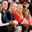 Oklahoma assistant coach Jan Ross, third from right, won the 2013 Carol Eckman Award. PHOTO PROVIDED BY OU ATHLETICS