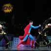 This undated image released by Helene Davis Public Relations shows Edward Watts as Superman, center, in Encore's