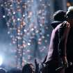 "Nate Ruess, left, and Pink embrace after performing ""Just Give Me a Reason"" at the 56th annual Grammy Awards at Staples Center on Sunday, Jan. 26, 2014, in Los Angeles. (Photo by Matt Sayles/Invision/AP)"
