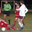 Edmond Memorial's Colin Carroll tries to avoid a collision.  EMHS beat Ponca City 3-0, Friday, 4.7.2006.  Community Photo By:  Jeff Wilson  Submitted By:  Jeff, Edmond