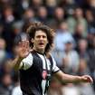 Newcastle United's captain Fabricio Coloccini, is seen during their English Premier League soccer match against Manchester City at the Sports Direct Arena, Newcastle, England, Sunday, May 6, 2012. (AP Photo/Scott Heppell)