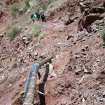 This undated photo shows hikers walking near a water pipeline that runs through Grand Canyon National Park, Arizona. Two pipelines that feed water from a spring deep in the canyon to storage tanks on the rim are the top priority for maintenance in the national park, and replacing them could cost up to $200 million. (AP Photo/Grand Canyon National Park)