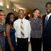 Brielle Brown, Robyn Alfred, Britton Adams, Azrial Greene-Pina and Thomas Lewis II