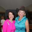 Cathy Keating and Lynn Friess were chairmen of the Annie Oakley Society Luncheon. (Photo by David Faytinger).