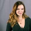 This Sept. 18, 2013 photo shows actress Amber Tamblyn in New York. Tamblyn will guest star as Charlie Harper's daughter in the upcoming season of the comedy series