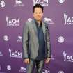 Musician Gary Allan arrives at the 48th Annual Academy of Country Music Awards at the MGM Grand Garden Arena in Las Vegas on Sunday, April 7, 2013. (Photo by Al Powers/Invision/AP) ORG XMIT: NVPM223