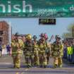 Firemen crossing the finish line - OKC Memorial Marathon