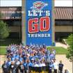 Hertz Technology Center showing Thunder Pride!
