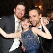 Actor Channing Tatum, left, actress Joey King and executive producer Reid Carolin attend the