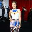 Australian singer-songwriter Missy Higgins arrives for the Australian music industry Aria Awards in Sydney, Thursday, Nov. 29, 2012. (AP Photo/Rick Rycroft)