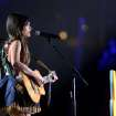 Kacey Musgraves performs at the 56th annual Grammy Awards at Staples Center on Sunday, Jan. 26, 2014, in Los Angeles. (Photo by Matt Sayles/Invision/AP)