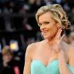 Missi Pyle arrives before the 84th Academy Awards on Sunday, Feb. 26, 2012, in the Hollywood section of Los Angeles. (AP Photo/Chris Pizzello) ORG XMIT: OSC178