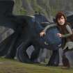 """Teenage Viking Hiccup (Jay Baruchel) befriends Toothless, an injured Night Fury — the most feared and mysterious dragon breed — in """"How to Train Your Dragon."""" - DreamWorks Animation Photo ORG XMIT: 1003251535320501"""