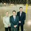Capital Distributing's Chief Financial Officer Steven Oliver, Rick Higginson,  V.P. Sales and Marketing, and General Manager Gordon Green pose in Capital Distributing's new warehouse at 421 N Portland in Oklahoma City, Okla. Jan. 15, 2008.  BY STEVE GOOCH, THE  OKLAHOMAN