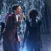 "Nate Ruess performs ""Just Give Me a Reason"" at the 56th annual Grammy Awards at Staples Center on Sunday, Jan. 26, 2014, in Los Angeles. (Photo by Matt Sayles/Invision/AP)"