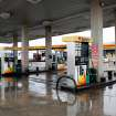 Love's gas station at NW 122 and I-35, Thursday,  Jan. 28, 2010. Photo by Jim Beckel, The Oklahoman