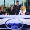 "From left, Mariah Carey, Keith Urban, Ryan Seacreast, Nicki Minaj and Randy Jackson of ""American Idol"" - Fox Photo"