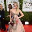 Kaley Cuoco arrives at the 71st annual Golden Globe Awards at the Beverly Hilton Hotel on Sunday, Jan. 12, 2014, in Beverly Hills, Calif. (Photo by Jordan Strauss/Invision/AP)