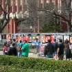 Genocide Awareness Project on OU campus brings viewers and discussions.  Community Photo By:  Kayla R. Hembree  Submitted By:  Brenda,