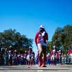 Dancers perform along Martin Luther King Jr. Boulevard during the 25th Annual Dr. Martin Luther King, Jr. Parade on Monday, Jan. 20, 2014, in Tampa, Fla. (AP Photo/The Tampa Bay Times, Kent Nishimura)
