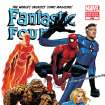 In this cover image released by Marvel Comics, the 600th issue of Fantastic Four is shown. The comic that Marvel began publishing 50 years ago, returns with a new issue featuring The Human Torch, who has returned from the dead to rejoin the fabled super team made up of his sister, Sue Storm aka the Invisible Woman; brother-in-law Reed Richards aka Mr. Fantastic; and Ben Grimm aka The Thing. The issue goes on sale in comic shops Wednesday. (AP Photo/Marvel Comics)