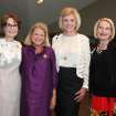 Susan Hoffman, Meg Salyer, Judy Love, Linda Bouchier enjoy the event. (Photo by David Faytinger).