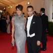 Chrissy Teigen, left, and John Legend attend The Metropolitan Museum of Art's Costume Institute benefit gala celebrating