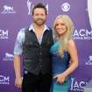 Singer Randy Houser, left, and Jessa Lee Yantz arrive at the 48th Annual Academy of Country Music Awards at the MGM Grand Garden Arena in Las Vegas on Sunday, April 7, 2013. (Photo by Al Powers/Invision/AP) ORG XMIT: NVPM249