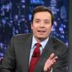 This Feb. 1, 2013 photo released by NBC shows Jimmy Fallon, host of