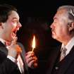 Dalton Thomas, left, and Kingsley Adams in a publicity photo from current Jewel Box Theatre production,