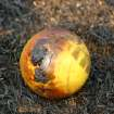 Community Photo By:  Mike Howard  Submitted By:  Mike, OKC The partially charred remains of a child's ball after the fire in SE OKC.