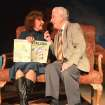 Jane Hall as Carol Reynolds and Paul Smith as Ralph Bellini in Carpenter Square Theatre's production of
